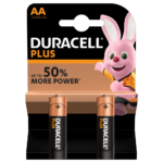 Duracell Type Plus 1.5V AA Batteries in 2 piece pack
