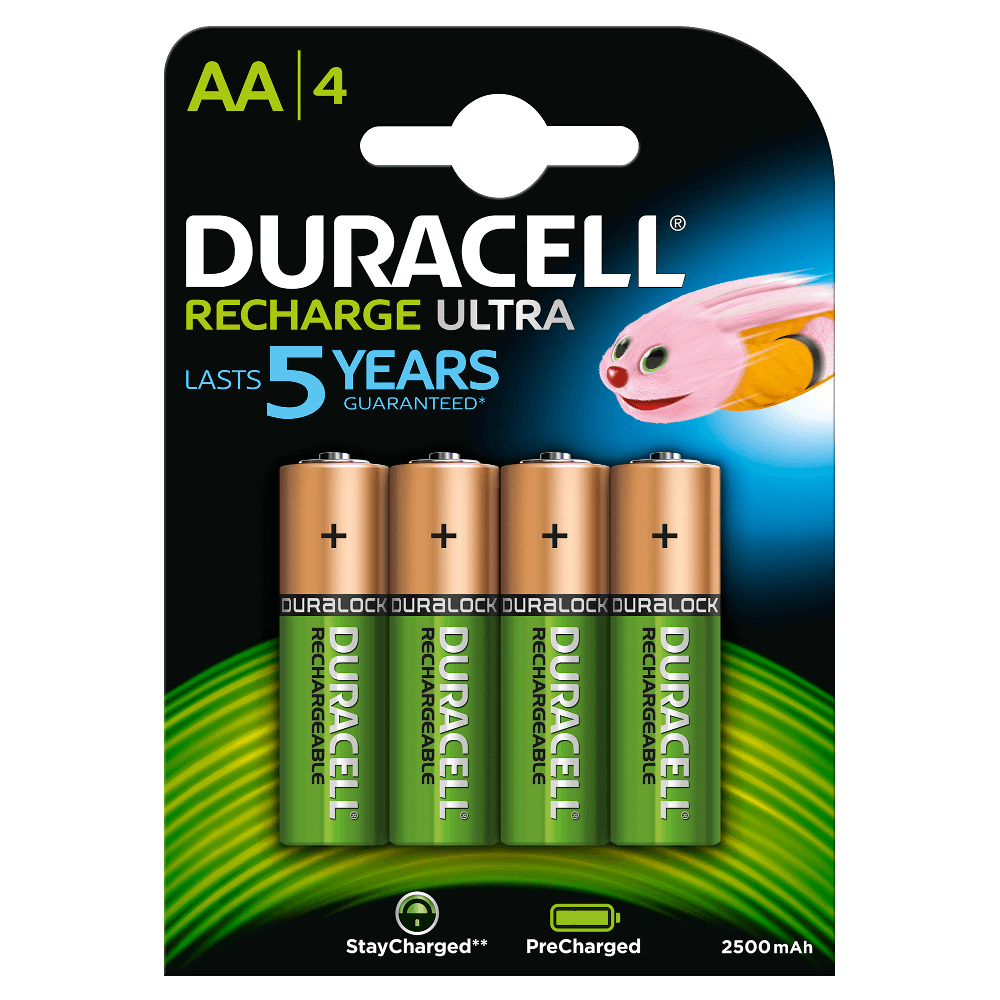 20e64c46438 Recharge Ultra AA Batteries. Duracell ...