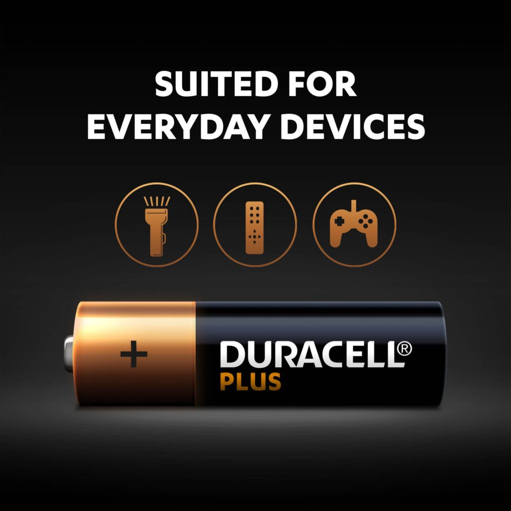 Duracell Plus AA battery - suited for everyday devices