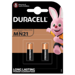 Duracell Specialty Alkaline MN21 size 12V batteries in 2-piece pack