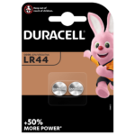 Duracell Specialty LR44 size Alkaline Button Battery 1,5V 2-piece pack
