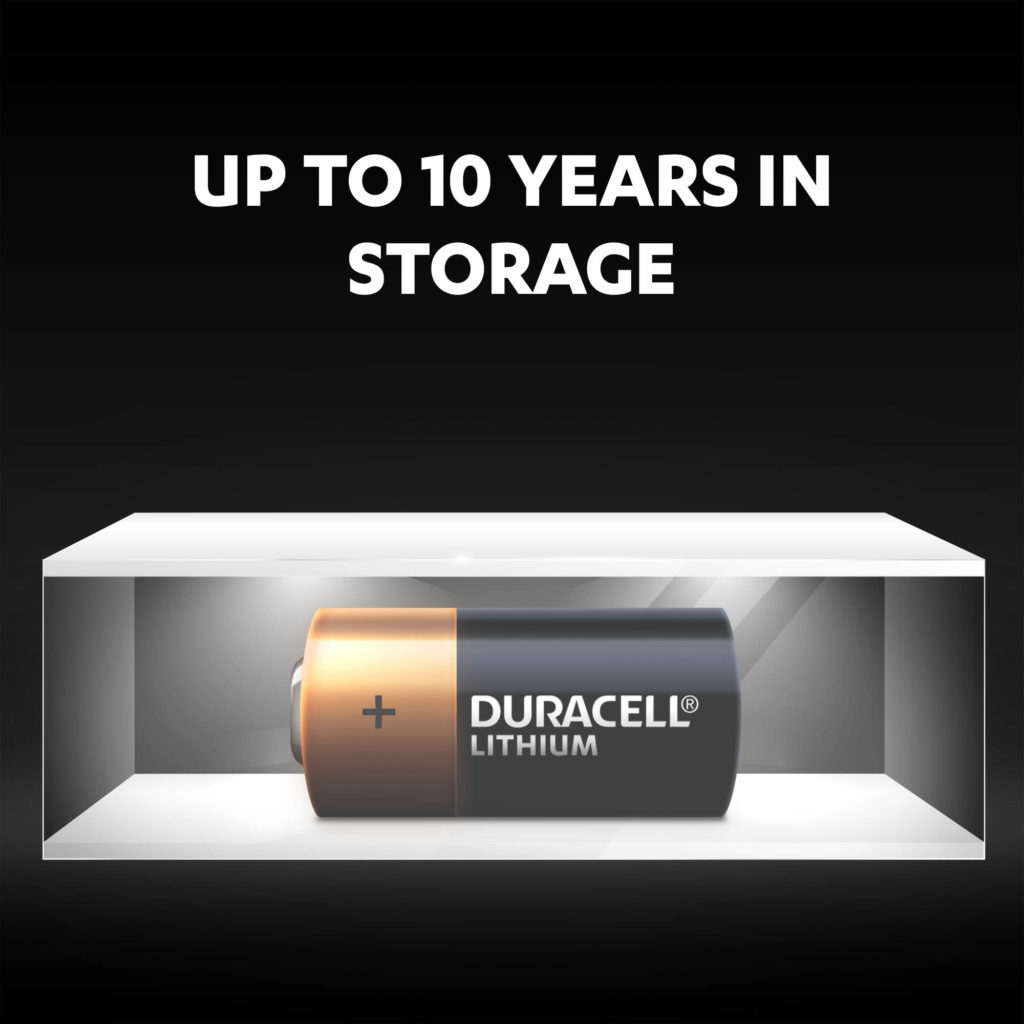 Guarantee for 10 years in storage